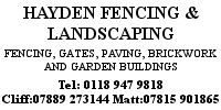 Hayden Fencing and Landscaping